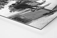 Bob Vorbereitungen als auf Alu-Dibond kaschierter Fotoabzug (Detail)