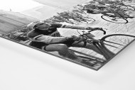 Am Mailänder Dom als auf Alu-Dibond kaschierter Fotoabzug (Detail)