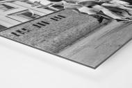 Ballspiel auf dem Schulhof (1) als auf Alu-Dibond kaschierter Fotoabzug (Detail)