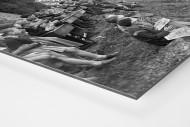 Schüler schauen die Tour 1958 als auf Alu-Dibond kaschierter Fotoabzug (Detail)