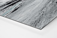 Slalomschatten als auf Alu-Dibond kaschierter Fotoabzug (Detail)