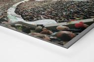Wolfsburg (2003) als auf Alu-Dibond kaschierter Fotoabzug (Detail)
