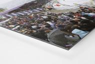 Aue (2012) als auf Alu-Dibond kaschierter Fotoabzug (Detail)