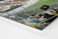 Essen (Stadion Essen) als auf Alu-Dibond kaschierter Fotoabzug (Detail)