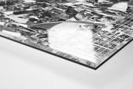 Bochum Fans 1971 als Direktdruck auf Alu-Dibond hinter Acrylglas (Detail)