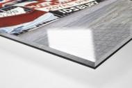 Englische Fans in Rotterdam als Direktdruck auf Alu-Dibond hinter Acrylglas (Detail)