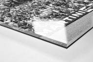 Hannover Fans 1971 als Direktdruck auf Alu-Dibond hinter Acrylglas (Detail)