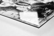 Zwickau - Rostock als Direktdruck auf Alu-Dibond hinter Acrylglas (Detail)
