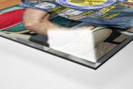 Kutte Tennis als Direktdruck auf Alu-Dibond hinter Acrylglas (Detail)