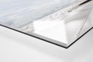 Stadiondach und Himmel in Brasília als Direktdruck auf Alu-Dibond hinter Acrylglas (Detail)