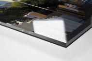 Straße und Mofa vor dem Cape Town Stadium als Direktdruck auf Alu-Dibond hinter Acrylglas (Detail)