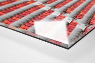 Sitzschalen in Port Elizabeth als Direktdruck auf Alu-Dibond hinter Acrylglas (Detail)
