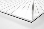 Dachkonstruktion im Nationalstadion Warschau als Direktdruck auf Alu-Dibond hinter Acrylglas (Detail)