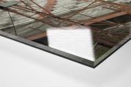 Tribüne im Stadion Giulite Coutinho als Direktdruck auf Alu-Dibond hinter Acrylglas (Detail)
