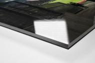 Blick in das Stadion Essen als Direktdruck auf Alu-Dibond hinter Acrylglas (Detail)