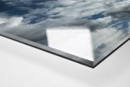 Flutlichtmast Stadion Essen als Direktdruck auf Alu-Dibond hinter Acrylglas (Detail)