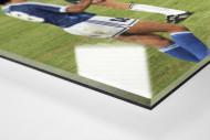 Jubel nach dem Abpfiff als Direktdruck auf Alu-Dibond hinter Acrylglas (Detail)