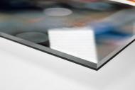 Lothar und Klinsi als Direktdruck auf Alu-Dibond hinter Acrylglas (Detail)
