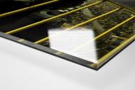 Police At The Stadium als Direktdruck auf Alu-Dibond hinter Acrylglas (Detail)
