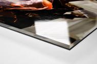 Pyro And Flares als Direktdruck auf Alu-Dibond hinter Acrylglas (Detail)