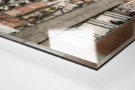 Favelas Around The Stadium als Direktdruck auf Alu-Dibond hinter Acrylglas (Detail)