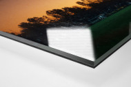 Flutlicht auf dem Betzenberg als Direktdruck auf Alu-Dibond hinter Acrylglas (Detail)