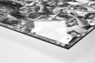 Bochum Fans 1988 als Direktdruck auf Alu-Dibond hinter Acrylglas (Detail)