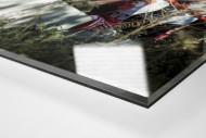 Blick in die Alte Försterei als Direktdruck auf Alu-Dibond hinter Acrylglas (Detail)