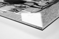 MSV im Pokalfinale als Direktdruck auf Alu-Dibond hinter Acrylglas (Detail)