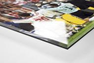 Stuttgarter Pokaljubel  als Direktdruck auf Alu-Dibond hinter Acrylglas (Detail)
