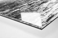 Schlammschlacht an der Hafenstraße als Direktdruck auf Alu-Dibond hinter Acrylglas (Detail)