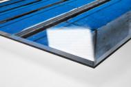 Tribüne Bölle (1) als Direktdruck auf Alu-Dibond hinter Acrylglas (Detail)