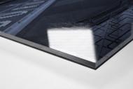 Stadien bei Nacht - Borussia Park (1) als Direktdruck auf Alu-Dibond hinter Acrylglas (Detail)