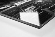 Leere Süd - Schwarzweiss (1) als Direktdruck auf Alu-Dibond hinter Acrylglas (Detail)