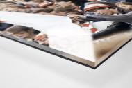 Union Fans als Direktdruck auf Alu-Dibond hinter Acrylglas (Detail)