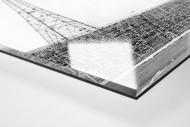 Leere Tribüne im Hampden Park als Direktdruck auf Alu-Dibond hinter Acrylglas (Detail)