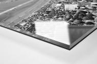 Neckarstadion 1991 als Direktdruck auf Alu-Dibond hinter Acrylglas (Detail)