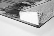 Vor dem Ibrox Park (2) als Direktdruck auf Alu-Dibond hinter Acrylglas (Detail)