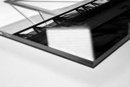 Dach des Signal Iduna Parks als Direktdruck auf Alu-Dibond hinter Acrylglas (Detail)