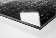 Bochumer im Schnee als Direktdruck auf Alu-Dibond hinter Acrylglas (Detail)