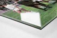 Gladbacher Jubel in Marl als Direktdruck auf Alu-Dibond hinter Acrylglas (Detail)
