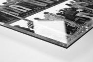 Braunschweig Fans 1981 als Direktdruck auf Alu-Dibond hinter Acrylglas (Detail)