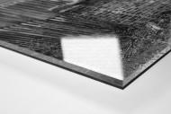 Blick über die Mauer als Direktdruck auf Alu-Dibond hinter Acrylglas (Detail)