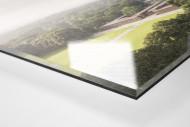 Blick auf die Kölner Arena als Direktdruck auf Alu-Dibond hinter Acrylglas (Detail)