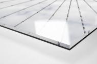 Frankfurter Videowürfel als Direktdruck auf Alu-Dibond hinter Acrylglas (Detail)