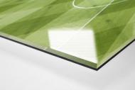 Frankfurter Videowürfelschatten als Direktdruck auf Alu-Dibond hinter Acrylglas (Detail)