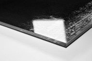 Flutlichtmast Cliftonhill Stadium als Direktdruck auf Alu-Dibond hinter Acrylglas (Detail)