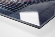 Gegengerade Millerntor 2014 als Direktdruck auf Alu-Dibond hinter Acrylglas (Detail)
