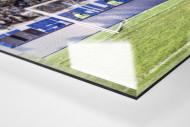 Elfmeterkind als Direktdruck auf Alu-Dibond hinter Acrylglas (Detail)