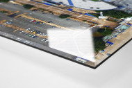 Vogelperspektive Estadio José Amalfitani als Direktdruck auf Alu-Dibond hinter Acrylglas (Detail)